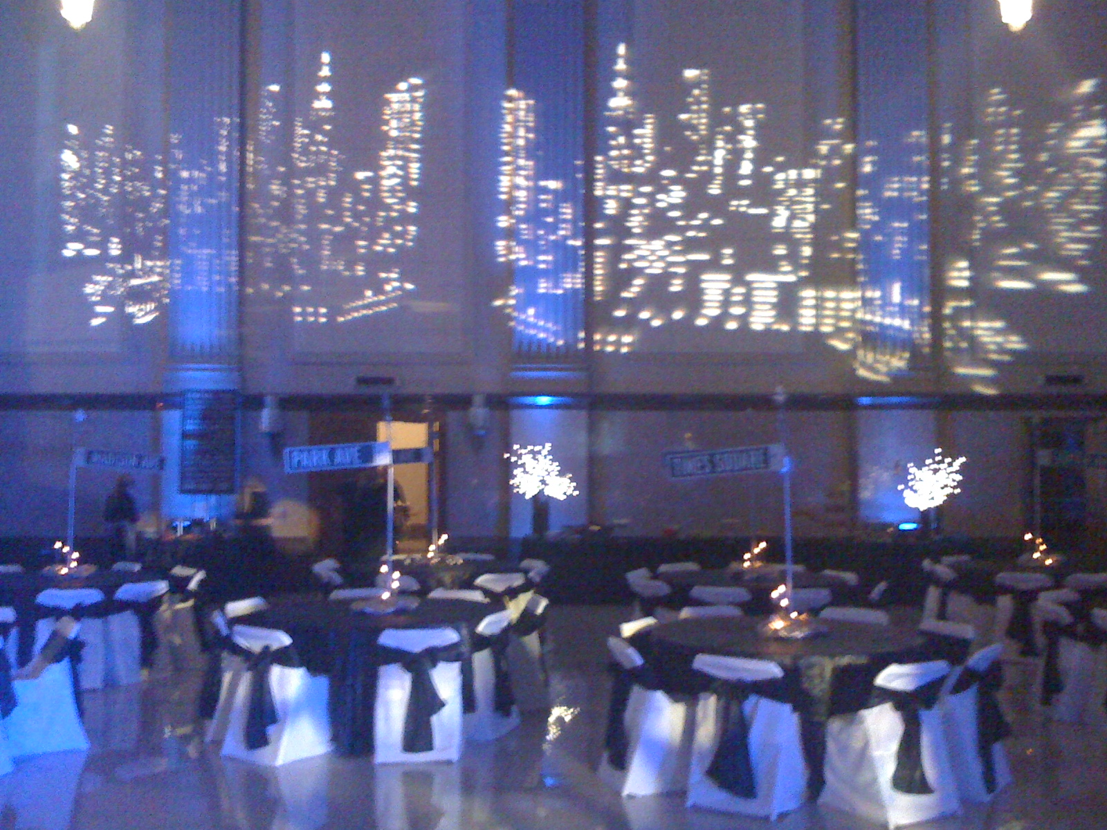 New York City Decor Of Transforming Space For A Party Dj Scott Shirley 39 S Blog